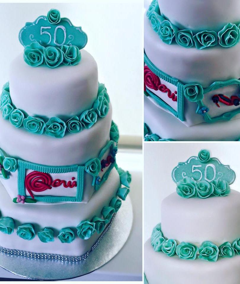 50 Anniversary Cake