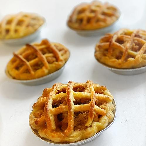 Mini Pie de Manzana 4 unidades