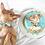 Hand painted dog cake for Tuna the Chiweenie