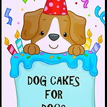 A Custom Pet Cake Company That Specializes In Birthday And BARK Mitzvah Cakes For Your Furry Friend