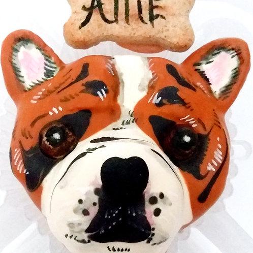 Sculptured cupcake