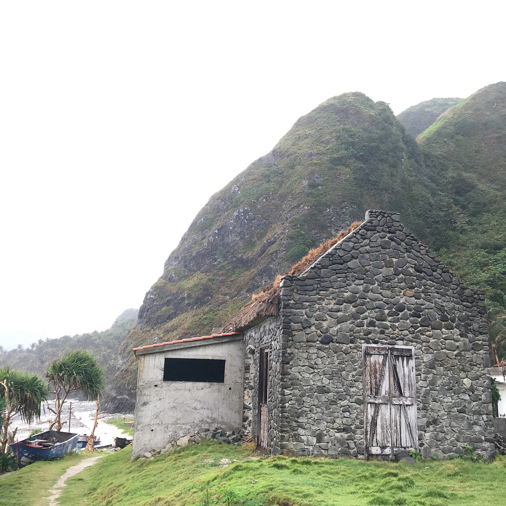 Ivatan Stone House in Batanes, Philippines