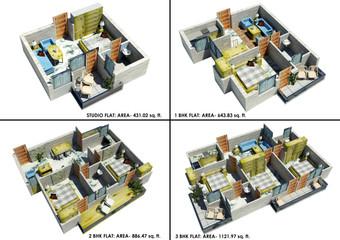 Real India Haridwar -  Cluster Plan