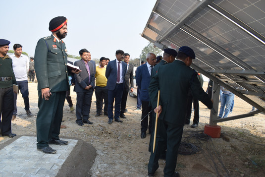 Inauguration Function Site Inspection