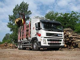 volvo faanyag szállítás wood timber truck