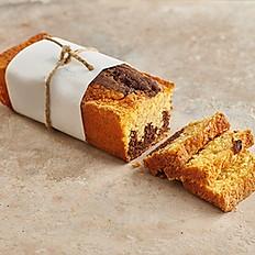 Orange Chocolate Marble Loaf Cake