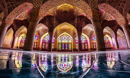 Nazir-Ol-Molk Mosque, Shiraz