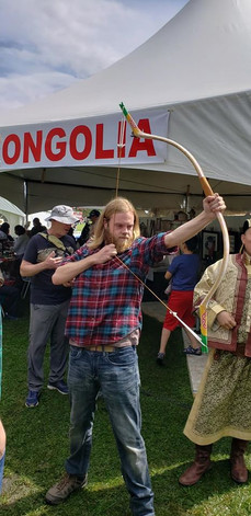 mongolian traditional archery.