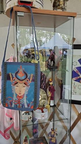 mongolian cultural display