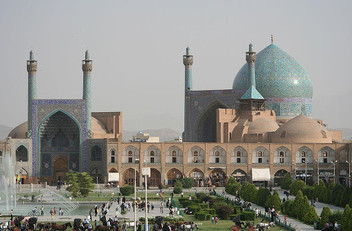 The Shah Mosque, Isfahan