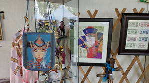 mongolian cultural items