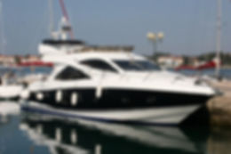 Sunseeker 50 Fly, Motoryachtcharter ab Sukosan