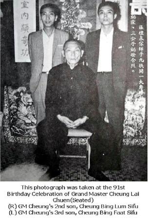 Cheung Lai Chuen 91 st. birthday