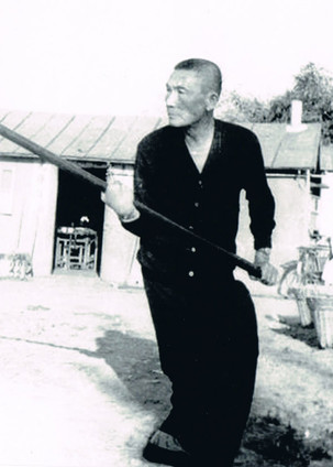 Cheung Lai Chuen - Practicing with a pole