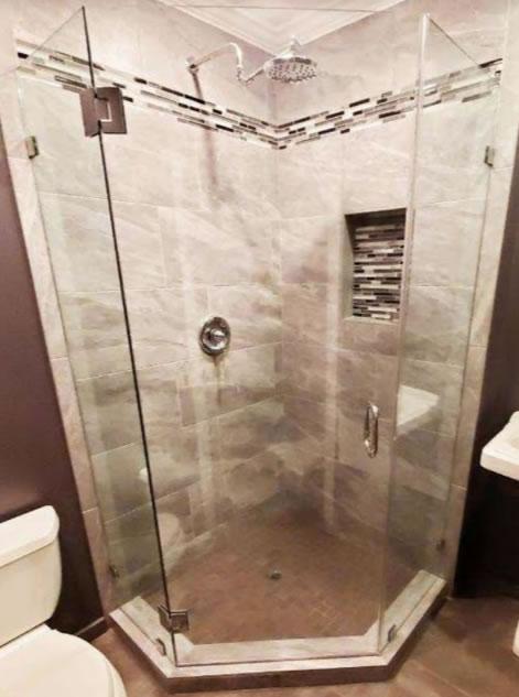 Shower stall & door