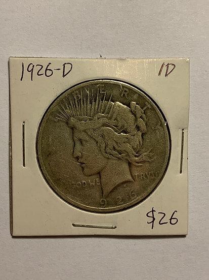 1926-D Raw