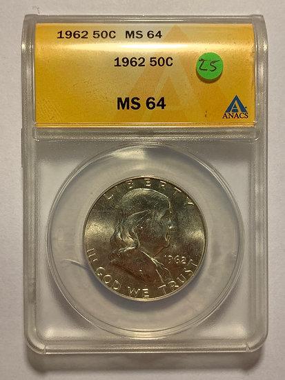 1962-P ANACS MS65
