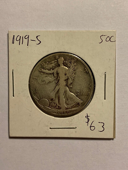 1919-S Raw