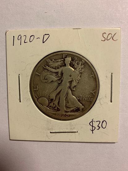 1920-D Raw