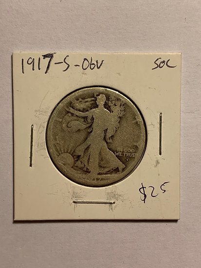 1917-S Obv. Raw