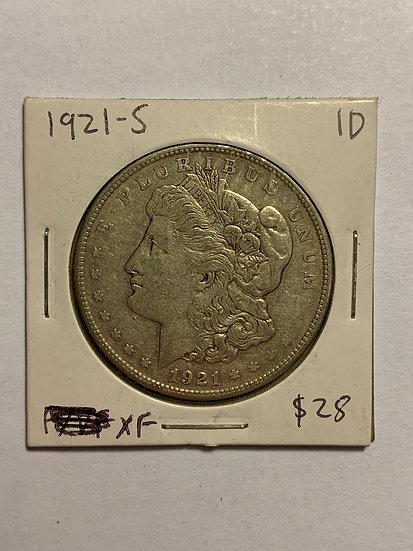 1921-S Raw