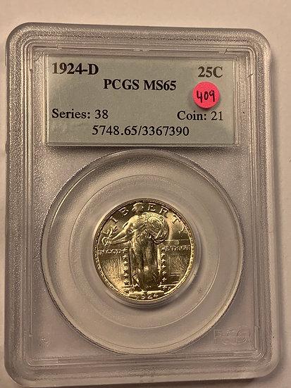 1924-D PCGS MS65