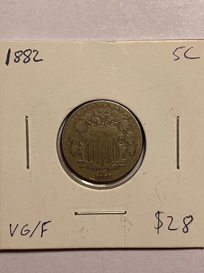 1882-P Raw