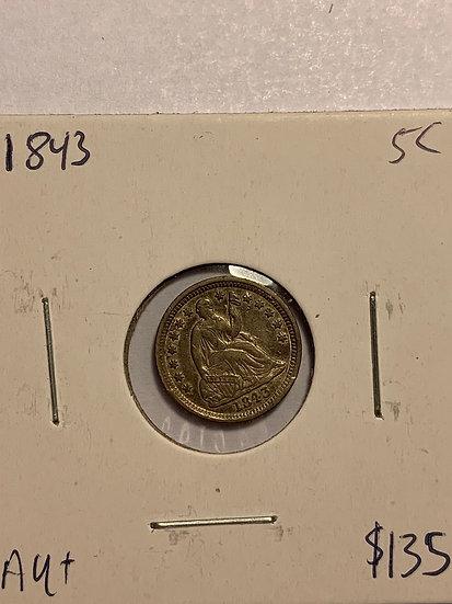 1843-P Raw