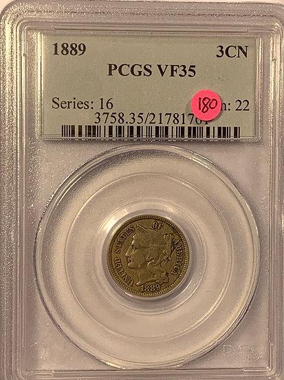 1889-P PCGS VF35