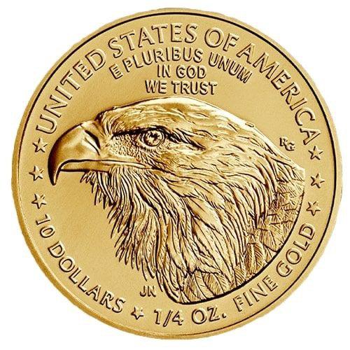 1/4oz American Gold Eagle - Random Year