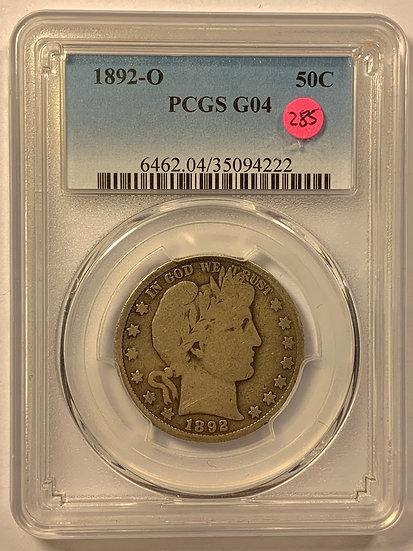 1892-O PCGS G4