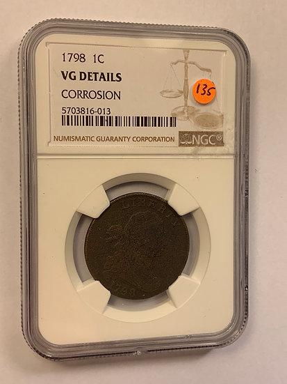 1798-P NGC VG Details