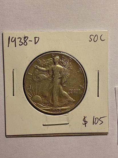 1938-D Raw