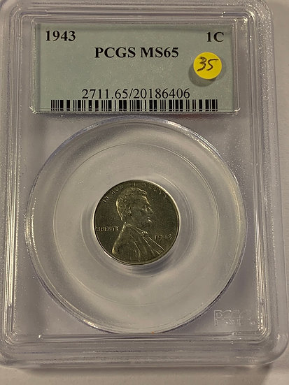1943-P PCGS MS65