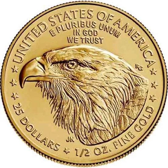1/2oz American Gold Eagle - Random Year