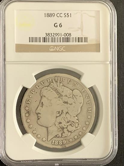 1889 CC NGC G6