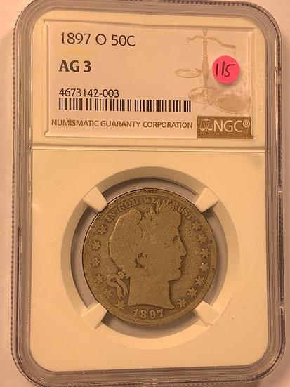 1897-O NGC AG3