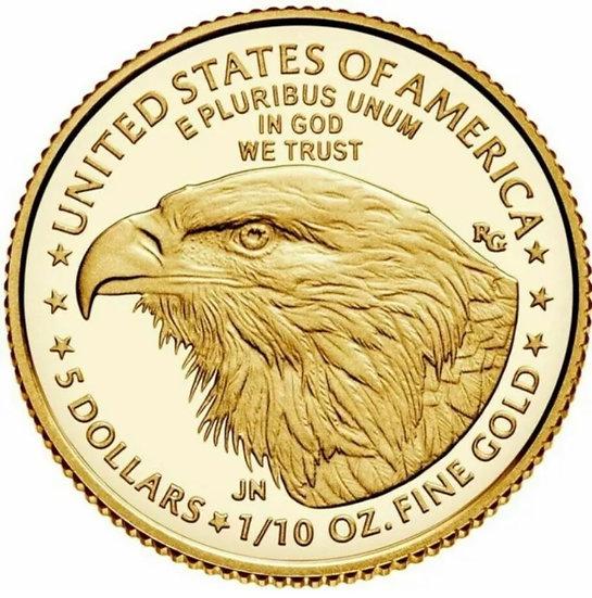 1/10oz American Gold Eagle - Random Year