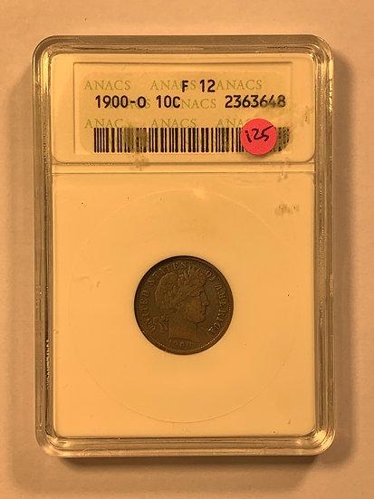1900-O ANACS F12