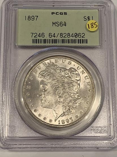 1897 P PCGS MS64