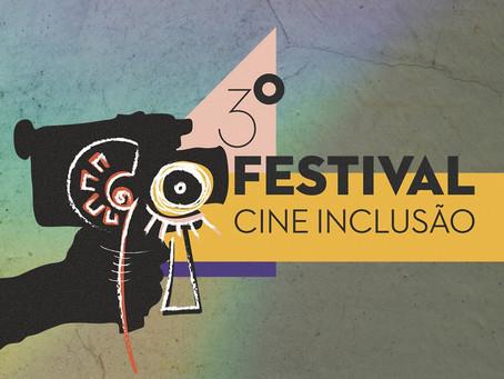 Inscrições abertas para o 3° Festival Cine Inclusão