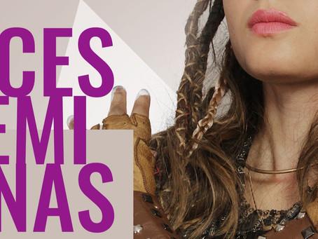 """Peça """"Faces Femininas"""" em formato de live"""