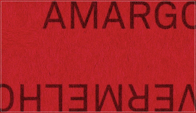 Impressões: Vermelho Amargo