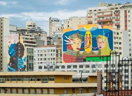 CURA: levando cores aos prédios de Belo Horizonte