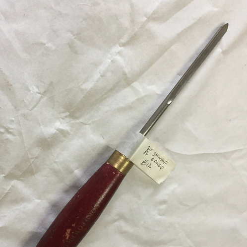 """Record 1/4"""" spindle gouge - 1572"""