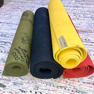 A Journey Through my Yoga Mats....