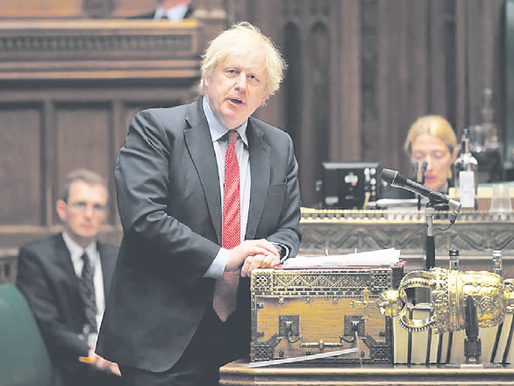 As Prime Minister, Boris Johnson struggles to find his voice