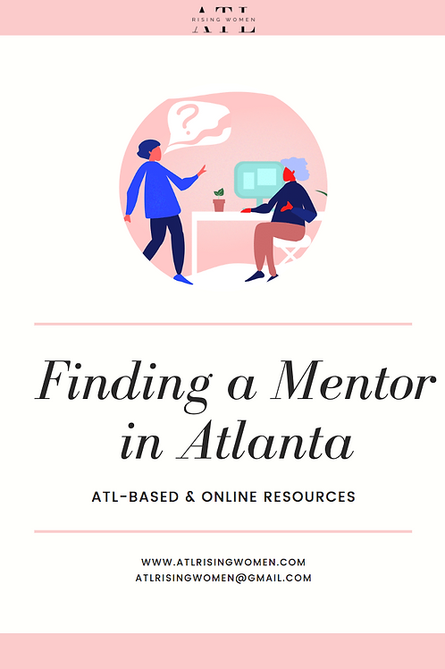 Free Download! Finding a Mentor in Atlanta