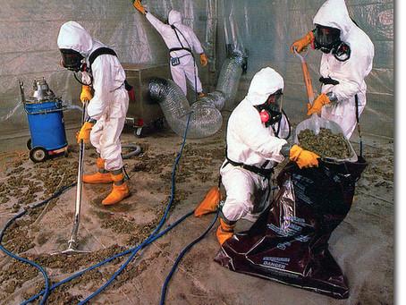 Asbestin synkkä historia