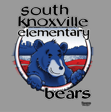 South Knoxville Elementary Bears shirt design